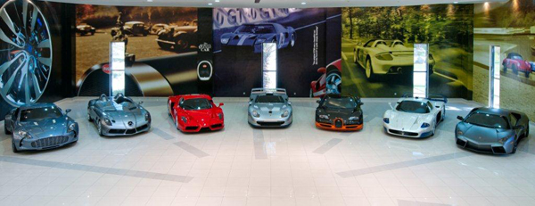 The Royal Auto Gallery Showroom